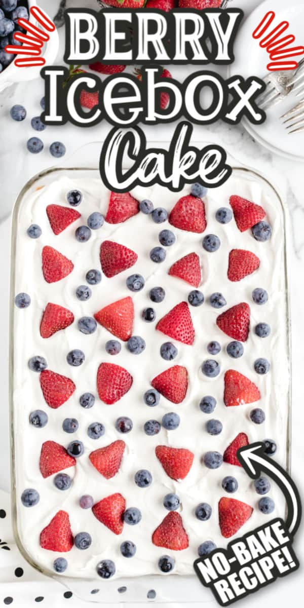 Berry Icebox Cake Pinterest