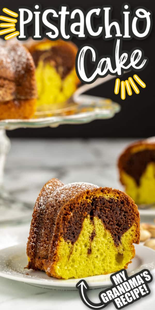 Pistachio Cake Pinterest