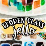 Broken Glass Jello Pinterest