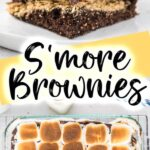 S'more Brownies with Oreos