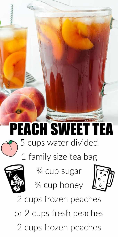Peach Sweet Tea Pinterest