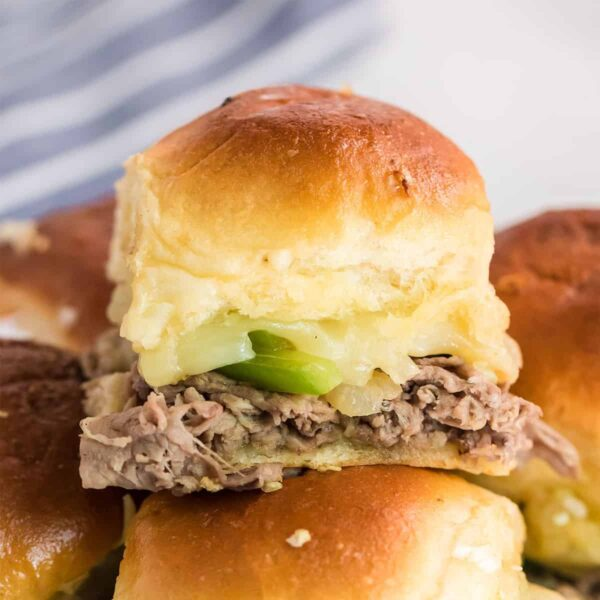 philly cheesesteak slider marble featured image