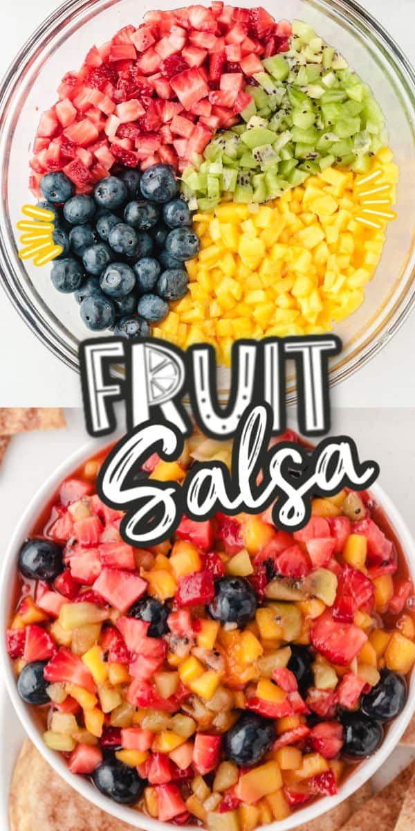 fruit salsa pinterest image
