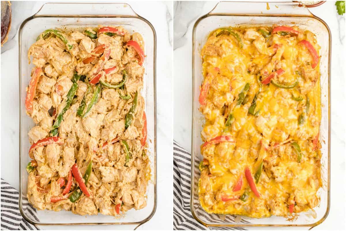 Chicken Fajita Casserole step 2