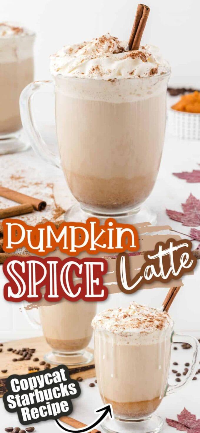 Pumpkin Spice Latte pinterest image
