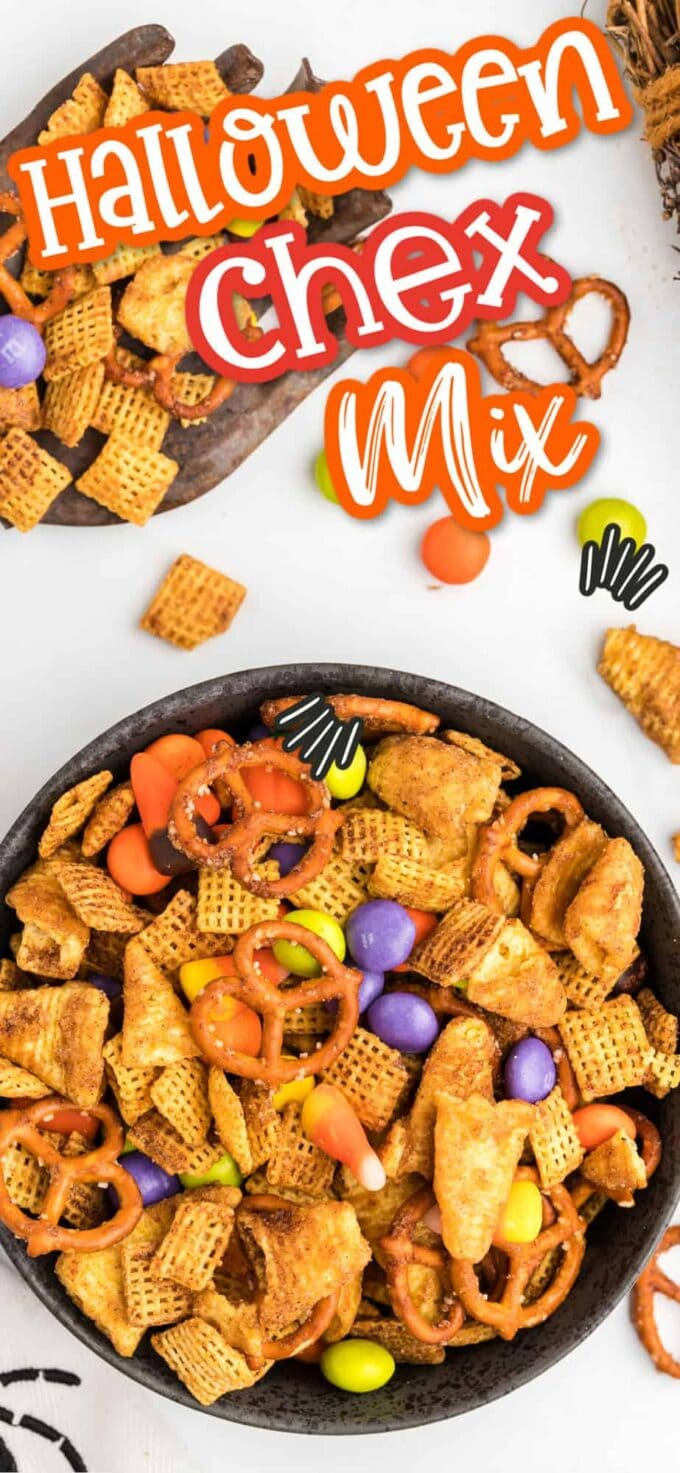 Halloween Chex Mix Pinterest Image