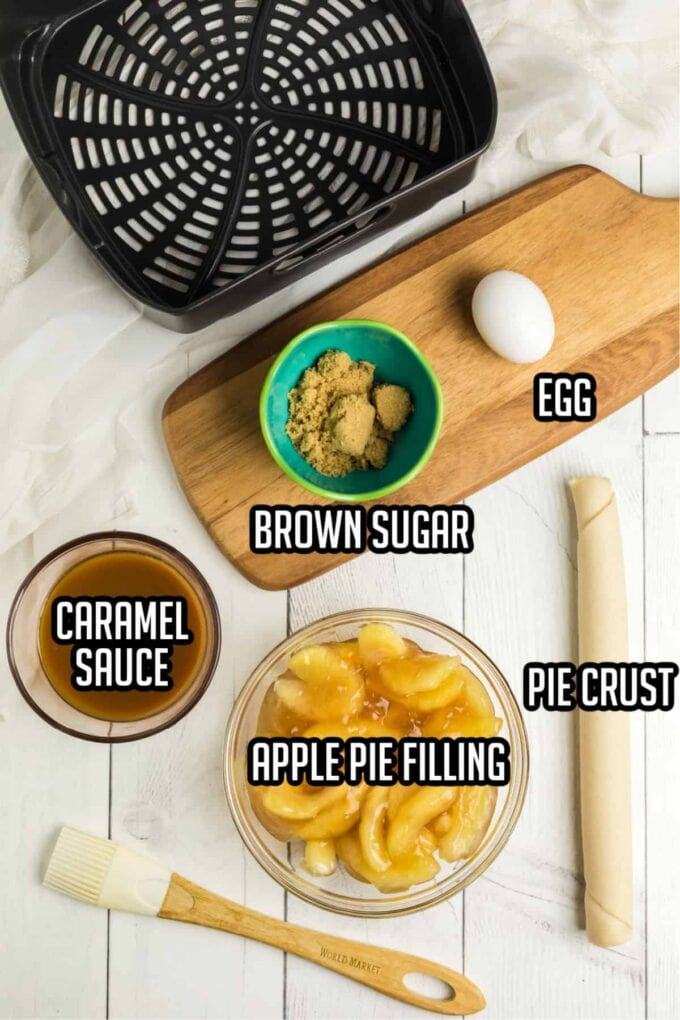 Caramel Apple Hand Pies ingredients