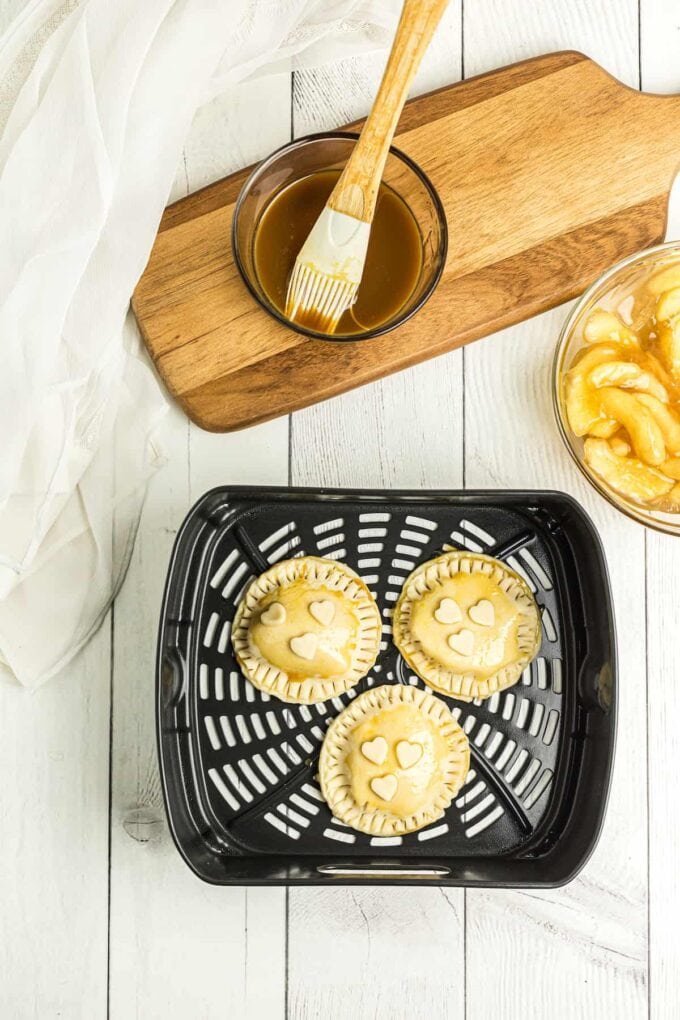 apple pies in air fryer