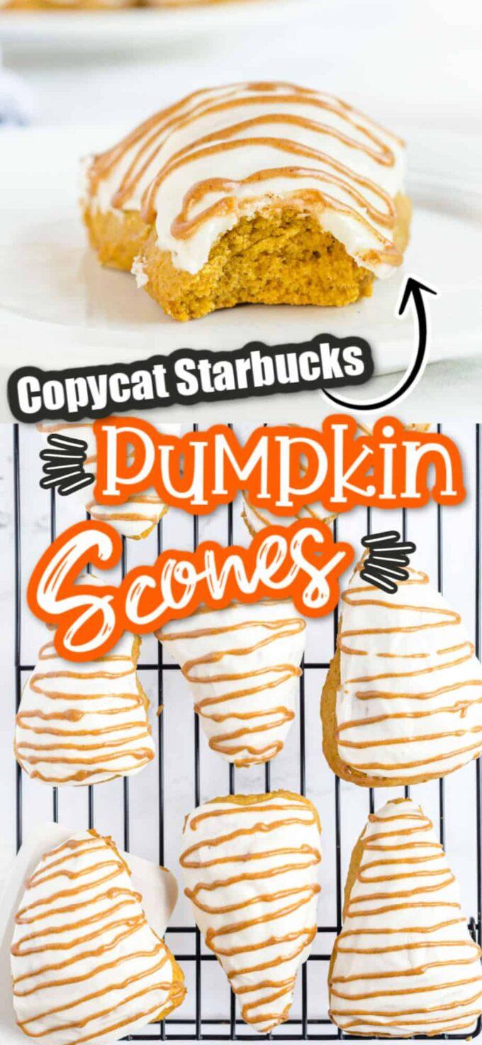 pumpkin scone pinterest image
