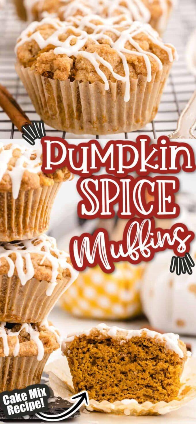 pumpkin muffin pinterest image