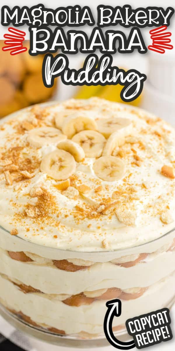 Magnolia Bakery Banana Pudding pinterest image