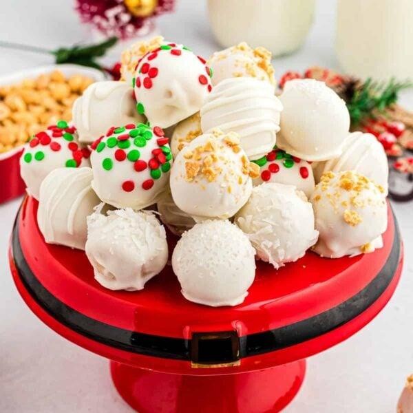 Christmas Truffles square