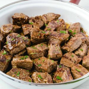 Garlic Butter Steak Bites featured square image