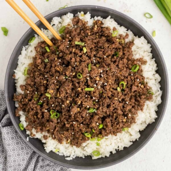 Korean Beef Bowl square featured