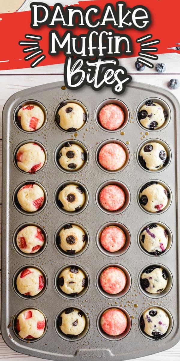 Pancake Muffins Pinterest Image