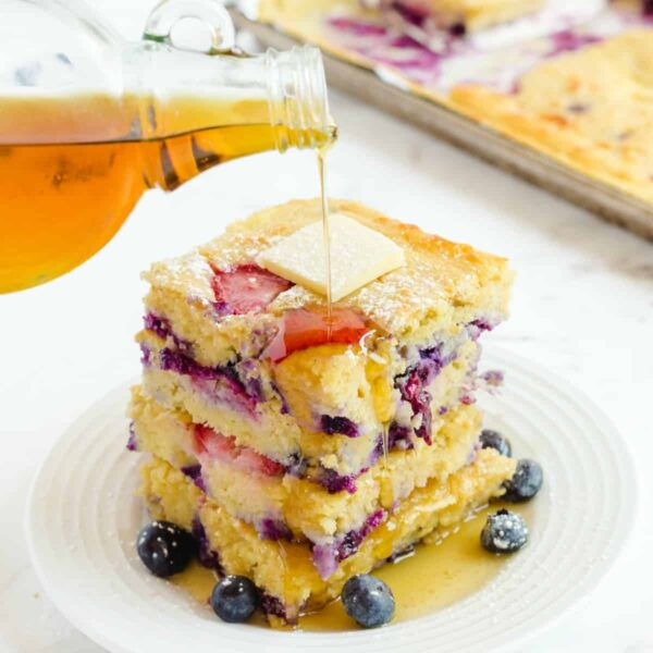 sheet pan pancakes featured image square