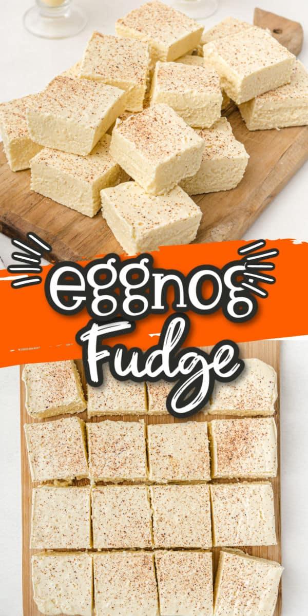 Eggnog Fudge Pinterest