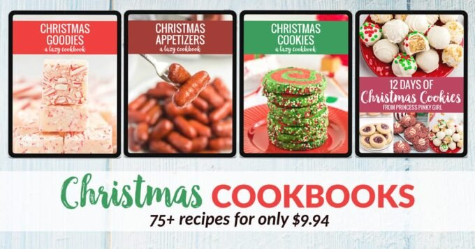 Christmas Cookbook promo photo