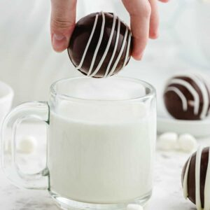 Hot Chocolate Bombs square