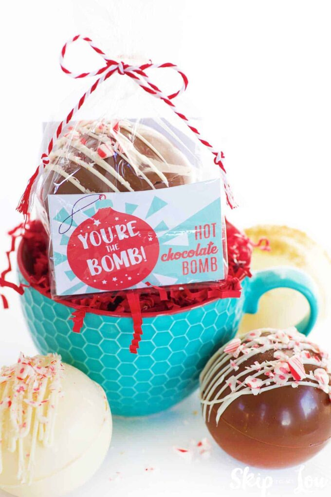 Hot chocolate bomb packaging