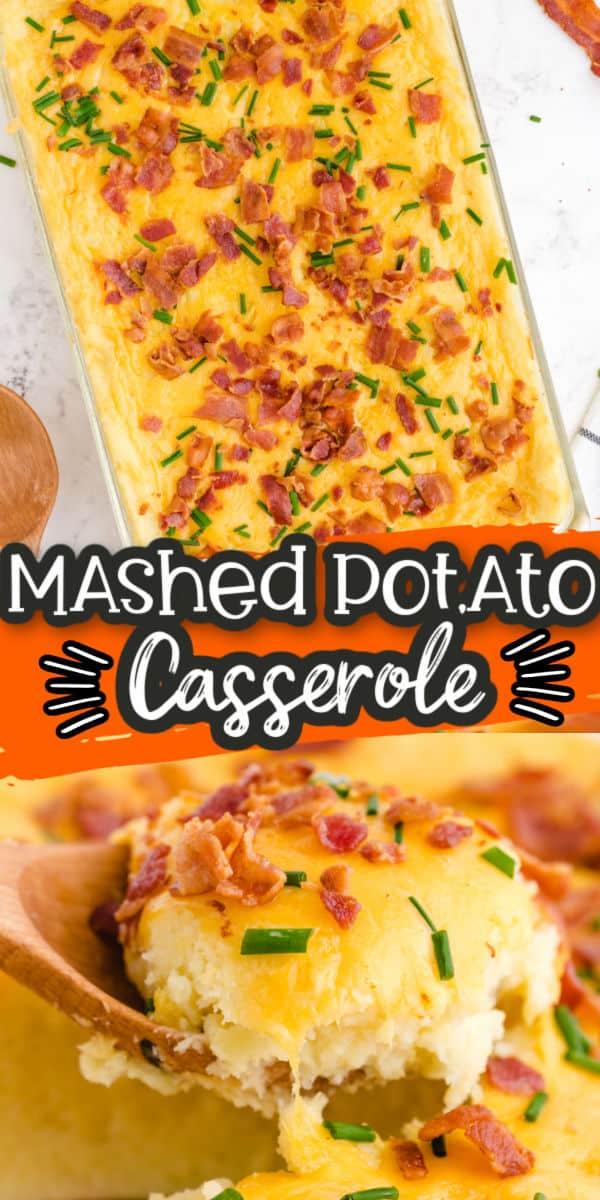 Mashed Potato Casserole pinterest image
