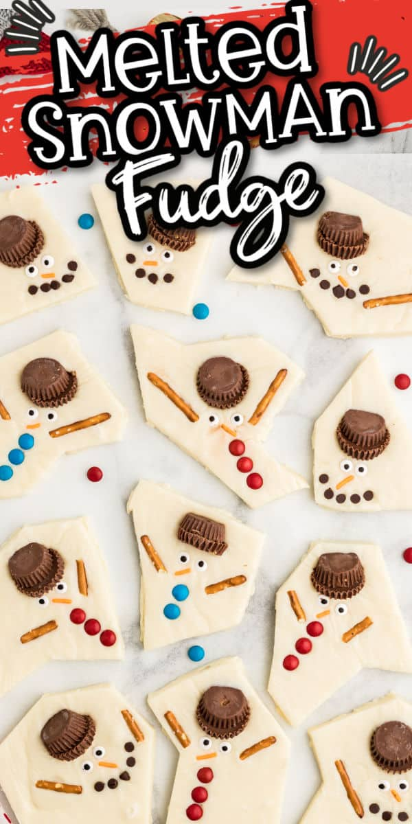 Pinterest - Melted Snowman Fudge