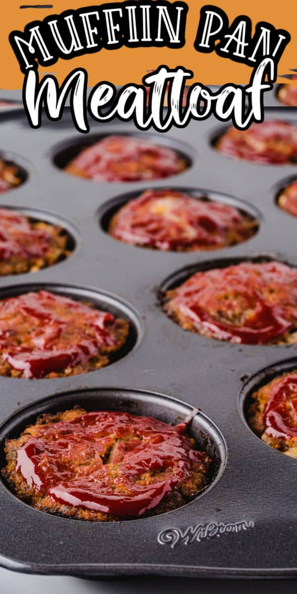 Muffin Pan Meatloaf Pinterest Image copy