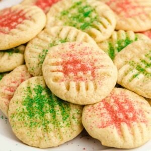christmas cookies square