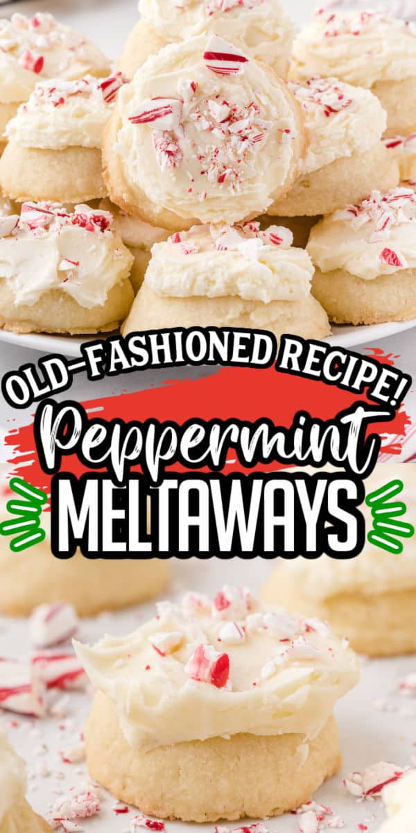 Peppermint Meltaways Pinterest Image