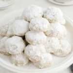 Snowball Cookies square