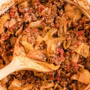 unstuffed cabbage bowls featured image