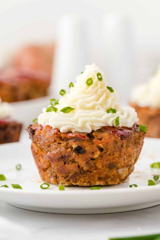 muffin pan meatloaf featured image