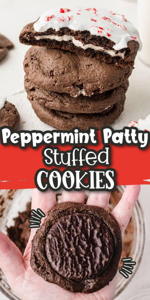 Peppermint Patty Cookies Pinterest Image copy