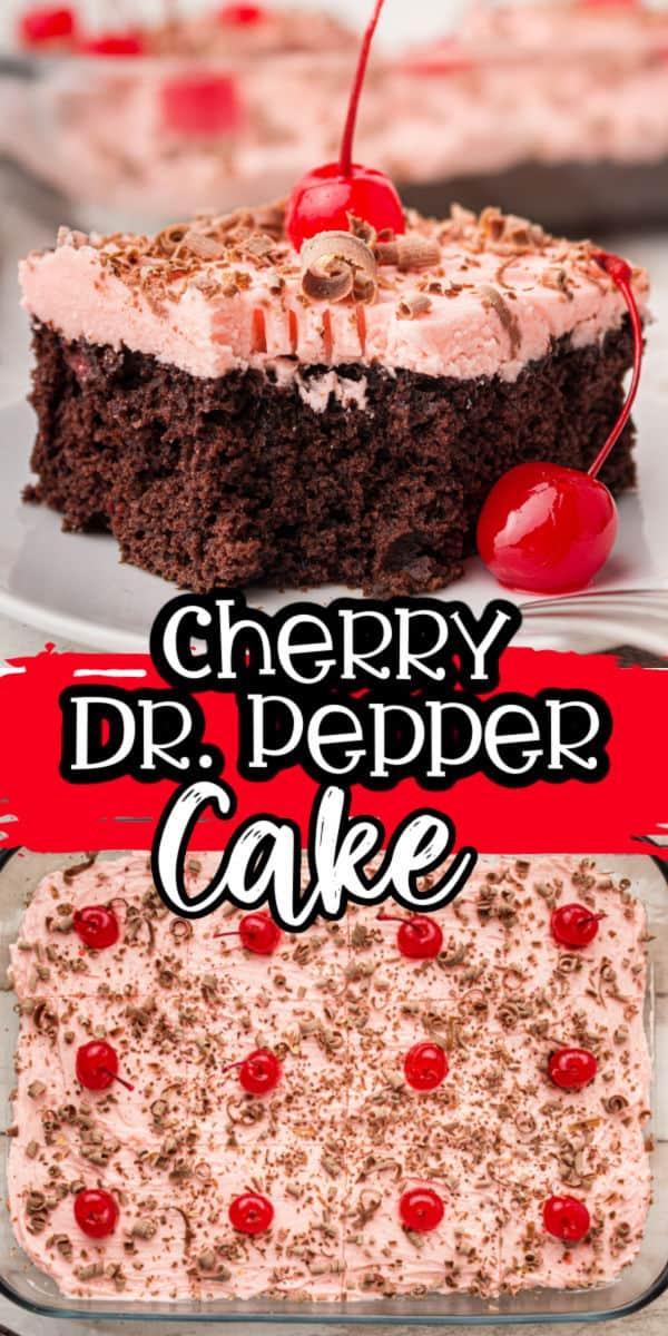 Pinterest 600 x 1200 - Cherry Dr. Pepper Cake