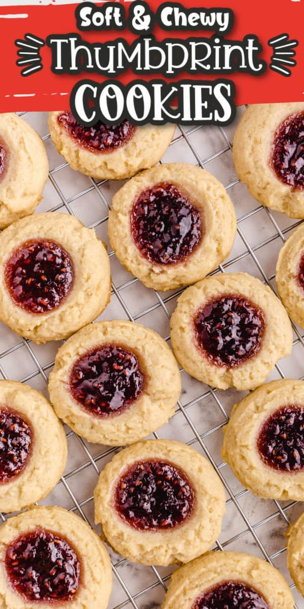 Thumbprint Cookies Pinterest Image