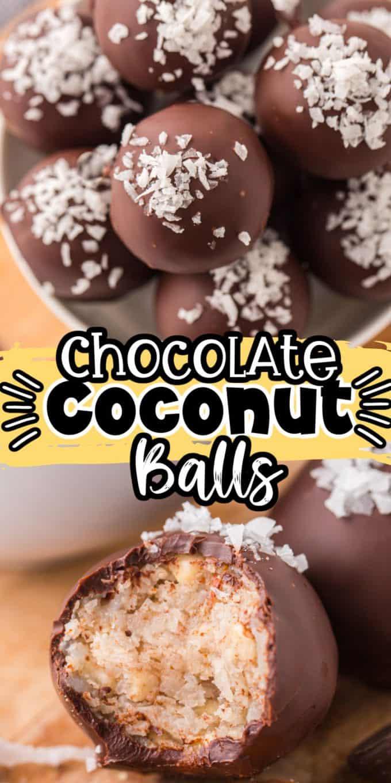 Chocolate Coconut Balls - Pinterest 1000 x 2000