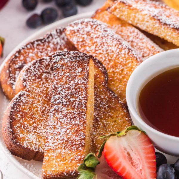 Google Web Story - Air fryer french toast sticks
