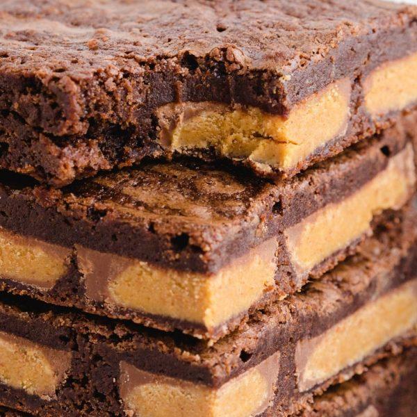Google Web Story - Chocolate Peanut Butter Brownies