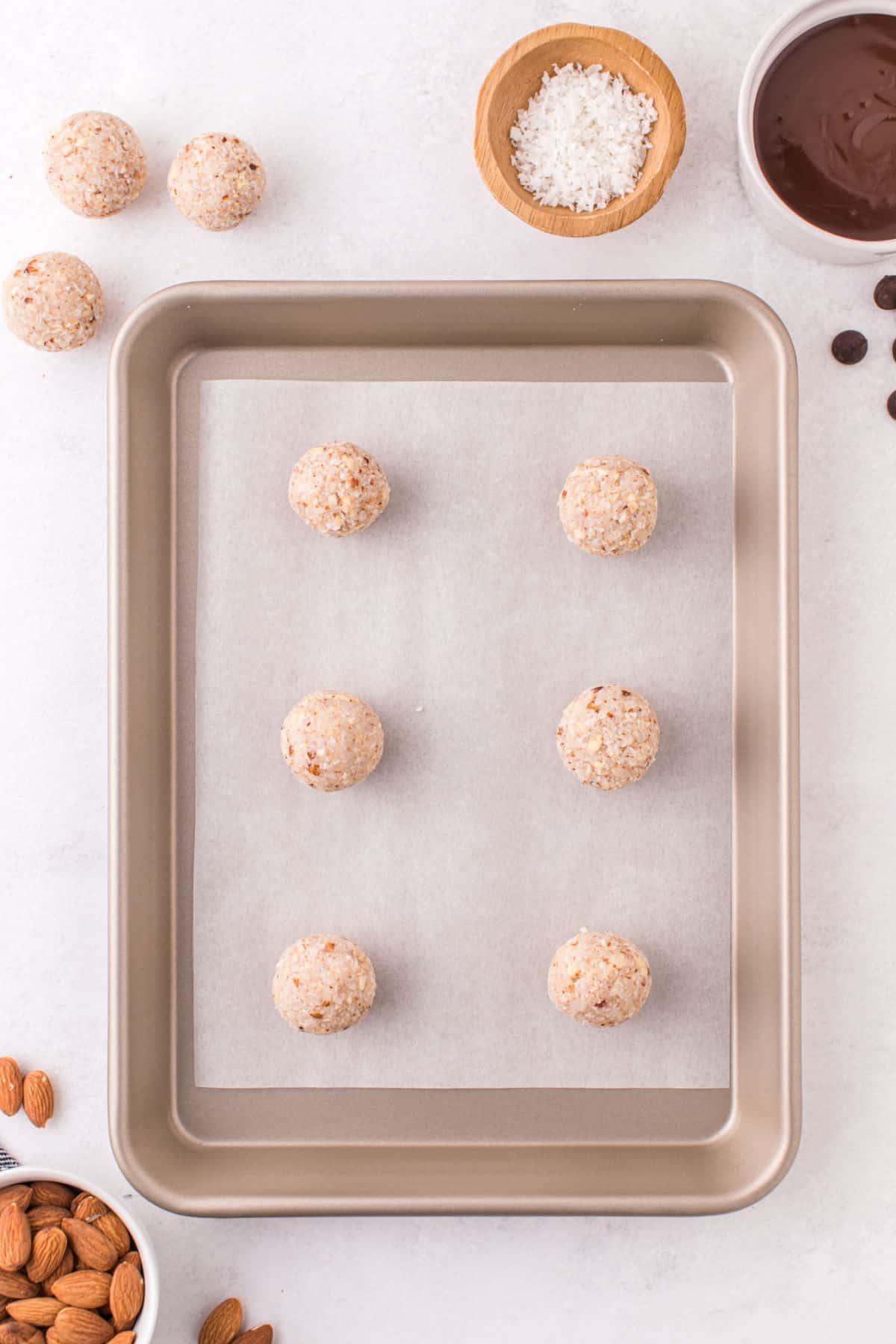 Step 3 - scoop balls