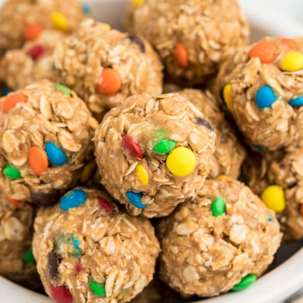 monster cookie energy balls - Google Web Story Template