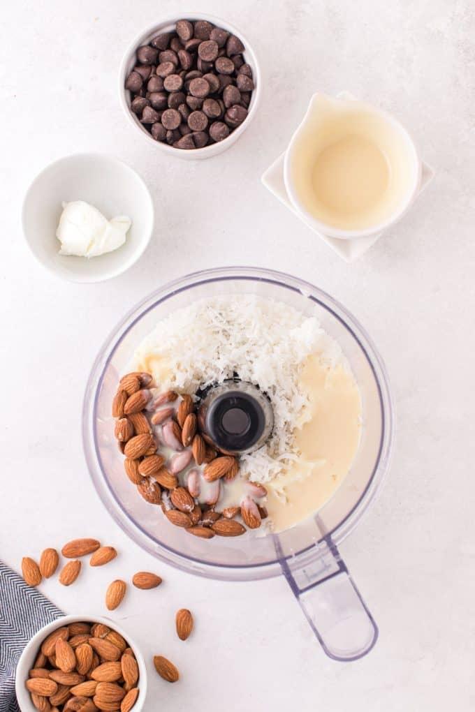 step 1 - ingredients in food processor