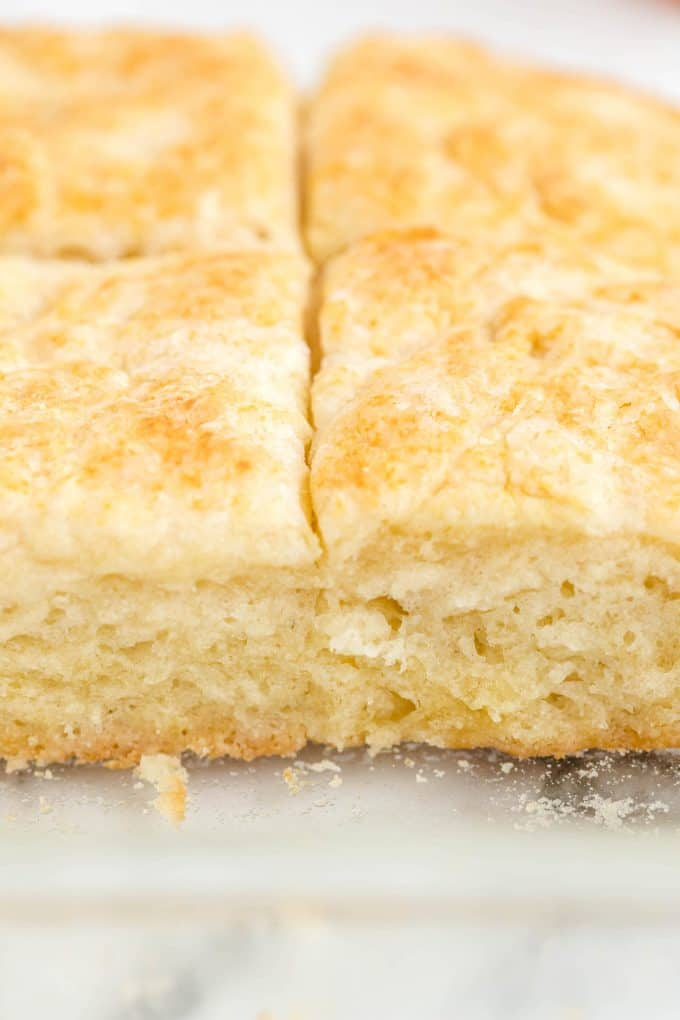close up 7-Up Biscuits