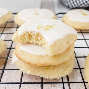 lemon meltaway cookies featured image