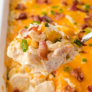 crack chicken casserole featured image