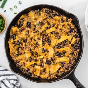 one pan enchiladas featured image