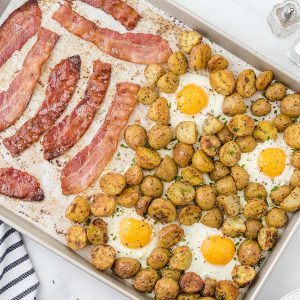 Sheet Pan Breakfast feature image