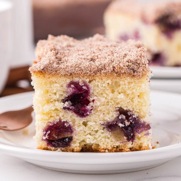 blueberry breakfast cake featured image