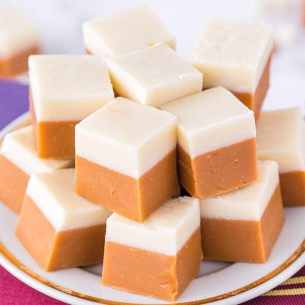 butterbeer fudge featured image