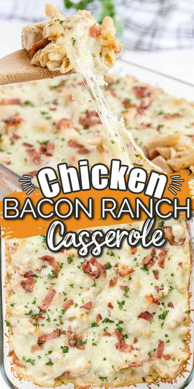 Chicken Bacon Ranch Casserole Pinterest
