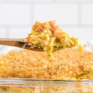 ritz chicken casserole featured image